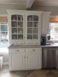 kitchen hutch furniture inspiring luxurious white kitchen hutch decor pict for cabinet