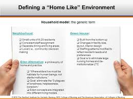 layout of nursing home resident directed care and culture change in nursing homes ppt