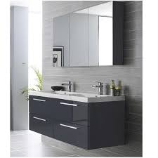 High Gloss Bathroom Vanity Roper Serif White Gloss Wall Hung Bathroom Vanity Unit