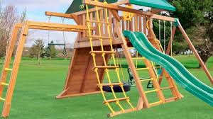 Backyard Jungle Gyms by Swing Set Accessories Options U0026 Add Ons Eastern Jungle Gym