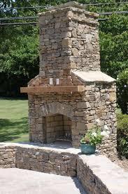 outdoor brick fireplace grill home design ideas