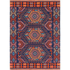 Poppy Area Rug Artistic Weavers Sajal Cleo Poppy 8 Ft X 10 Ft Indoor