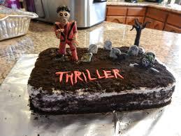 Dirt Cake For Halloween Michael Jackson U0027s Thriller Red Velvet Cake With Cream Cheese