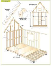 free wood cabin plans step by step guide to building a tiny house