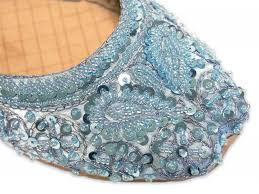 light blue wedding flats something blue wedding shoes flats