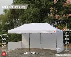 how many tables fit under a 10x20 tent 10x20 abccanopy pop up canopy commercial shelter backyard gazebo