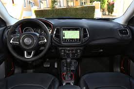 jeep interior 2017 jeep compass review parkers