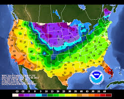 weather usa map weather flooding out cold to the east the two way