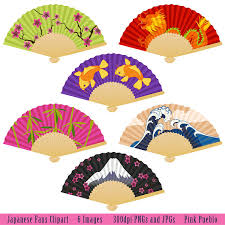 japanese fans japanese fans clipart clip with koi bamboo