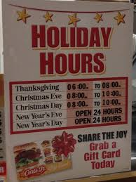open 24 hours open thanksgiving but i just got here and they re