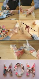 Decorative Letters For Home Best 25 Decoupage Letters Ideas On Pinterest Name Letters