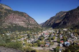 Colorado Tourism Map by Ouray Colorado Wikipedia