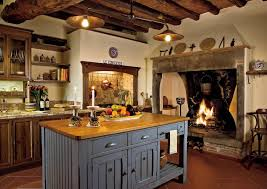 Interior Kitchens Kitchen Magnificent Rustic Kitchen Interior With A Decor Rustic