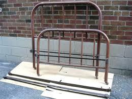 Metal Vintage Bed Frame Antique Metal Bed Antique Brass Bed Frame Or King Size