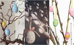 easter egg tree decorations how to make an easter tree 8 stylish decoration ideas