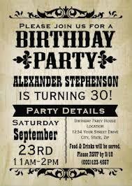 22 best men u0027s birthday party invitations images on pinterest