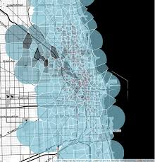 divvy map chicago design choices visualizing biking in chicago