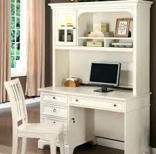 White Computer Desk With Hutch Small White Computer Desk Eatsafe Co
