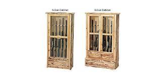 Wood Gun Cabinet Rush Creek 6 Gun And 8 Gun Wooden Cabinets Cabela U0027s