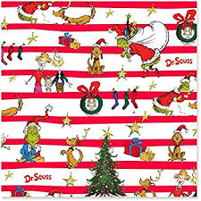dr seuss assorted gift wrapping paper jam paper christmas wrapping paper rolls 20 sq ft