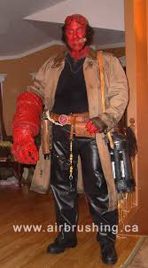 Hellboy Halloween Costume Hellboy Costume Homemade