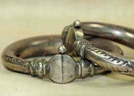 antique sterling silver bracelet images Antique sterling silver indian bangles jpg