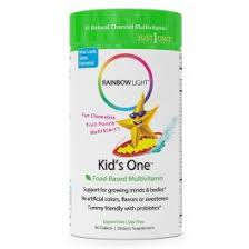rainbow light kids one rainbow light kids one multivitamin