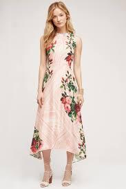 Summer Garden Wedding Guest Dresses - pankaj u0026 nidhi butterfly garden midi dress in pink lyst