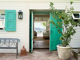 Colorful Beach Houses by Paint Color Ideas For Your Front Door Coastal Living