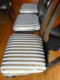 Upholster Dining Room Chairs by How To Reupholster Dining Chairs In Oilcloth Design Improvised