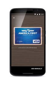 pay android android pay america credit union