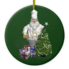 chef santa ornaments u0026 keepsake ornaments zazzle