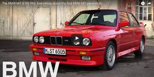 first bmw the bmw m3 e30 film everything about the first bmw m3 generation