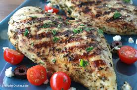 Main Dish Chicken Recipes - yummy greek marinated grilled chicken recipe