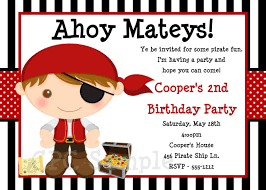 Invitation Card For Birthday Party Top 20 Pirate Birthday Party Invitations Theruntime Com