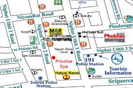 map of hat yai hat yai insider s guide preuksa spa