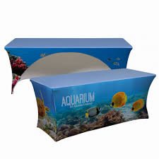 trade show table covers cheap 5 myths about tradeshow table covers showfire displays