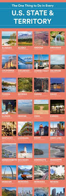 things to do in every state the one thing you must do in each u s state buckets vacation and