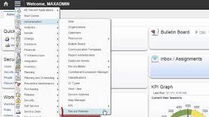 maximo asset management v7 6 edit mode setup youtube