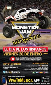 monster jam milwaukee wi vivatumusica