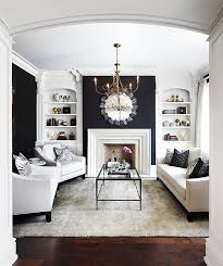 black built ins living room with black walls contemporary living room laura