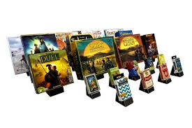 massif displays board game stands card stands book stands