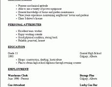 basic resume templates 14 easy nardellidesign com