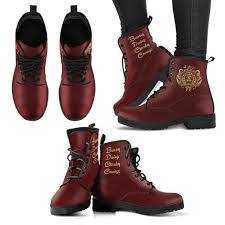 womens leather boots harry potter s leather boots hogwarts houses ineffable shop