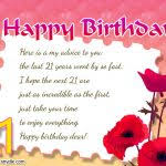 birthday card messages for friends 21st birthday wishes messages