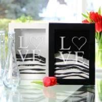 Heart Shaped Sand Ceremony Vase Set Unity Sand Ceremony Vases Sandsational Sparkle