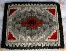miniature navajo indian rug by artisan victoria lillie for sale