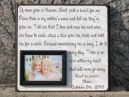 wedding memorial wording personalized memorial picture frame gift parent in memory of