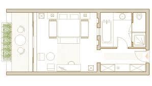 plan de chambre plan chambres contemporaines deluxe tozeur tunisie