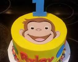 curious george cakes curious george cake etsy
